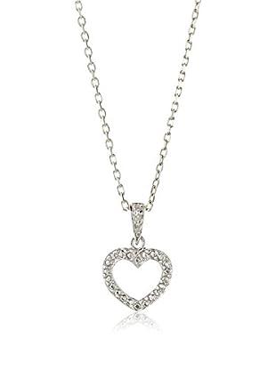Mindy Harris Open Heart Pendant Necklace