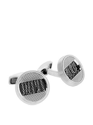 Tateossian Manschettenknopf CL3722 Sterling-Silber 925