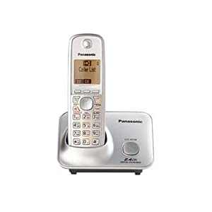 Panasonic KX-TG3711SX Cordless Phone (Silver)