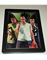 PS3 Grand Theft Auto V with Collectible SteelBook