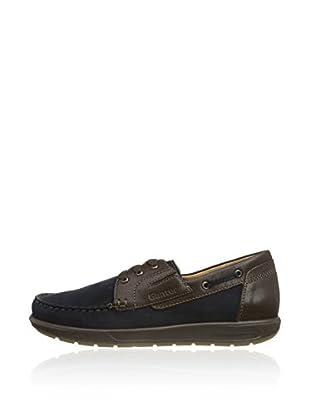 Ganter Zapatos Clásicos Gerome, Weite G (Azul)