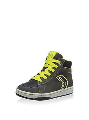 Geox Hightop Sneaker J Maltin Boy B Wpf A grau/limette EU 28