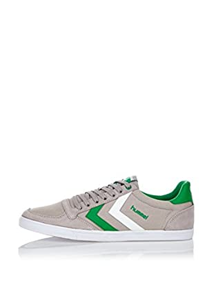 Hummel Sneaker Slimmer Stadil Low (grau/grün/weiß)