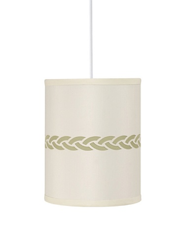 Royce Lighting Highland Park Collection Mini Pendant Lamp, Cream/Celery
