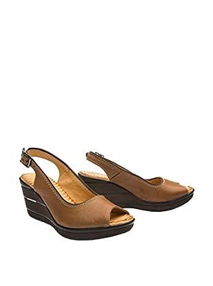 ALLSEVEN Keil Sandalette