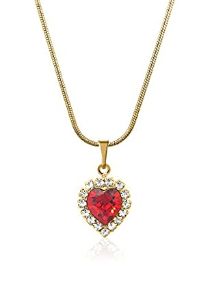 Swarovski Elements by Philippa Gold Halskette Strass Heart