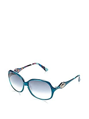 Pucci Sonnenbrille EP606S (58 mm) türkis
