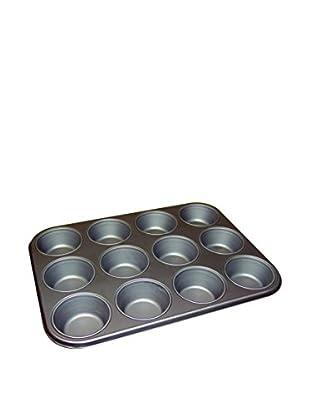 WMF Kaiser Gourmet 12 Cup Muffin Pan, Grey