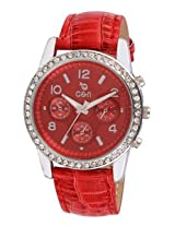 Chappin Nellson Analog Womens Watch - CN-L-07-Red