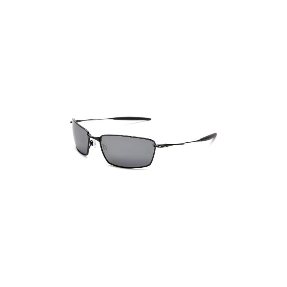 a952be5863cd Oakley Mens Square Whisker Iridium Polarized Sunglasses designer on ...