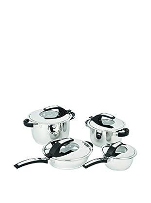 BergHOFF Virgo 8-Piece Stainless Steel Cookware Set