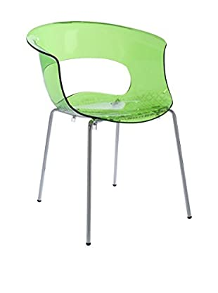 Eurostyle Miss B Antishock 4L Side Chair, Lime Green