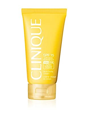 CLINIQUE Sonnencreme Sun Face/Body SPF15 150 ml, Preis/100 ml: 14.63 EUR