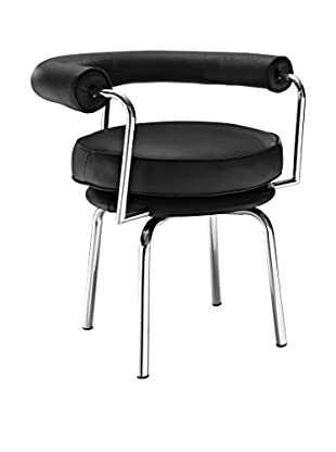 Modway Saloon Dining Arm Chair, Black