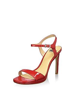 Bata 7615550 Sandali con cinturino alla caviglia, Donna, Rosso, 39