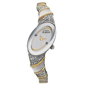 Titan Flora 9652BM03 Watch(Black Dial)
