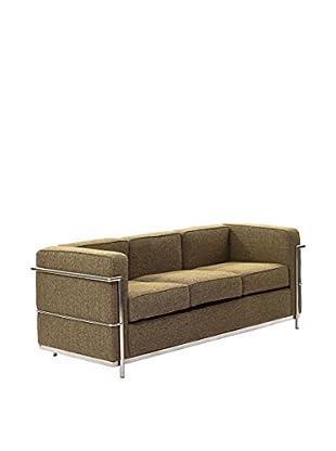 Modway Charles Petite Wool Sofa (Oatmeal)