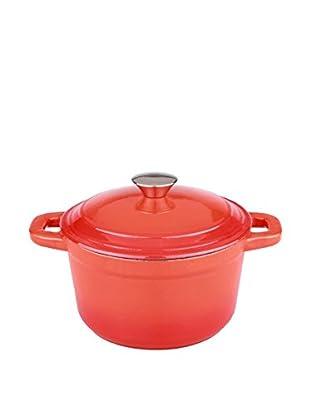 BergHOFF Neo 3-Qt. Cast Iron Round Covered Dutch Oven, Orange