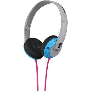 Skullcandy S5URGY-381 Uprock On-the-ear Headphone (Grey & Cyan)