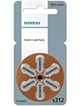 Siemens Hearing Aid Battery 312(36PCS)