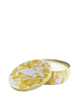 Isaac Mizrahi Hampton Lily 3-Wick Jar Candle, Yellow