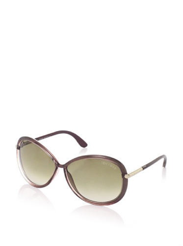 Tom Ford Women's Clothilde Sunglasses, Blackspray Dove/Rose Gold
