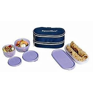 Signoraware 532 Double Decker Lunch-Blue
