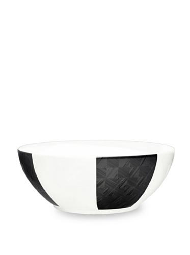 Noritake Everyday Elegance Zinc2 Large Round Bowl (White/Black)