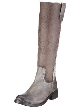 Buffalo London 1000 SD-03 COW MONTONE 121155 - Botas de cuero para mujer (Gris)