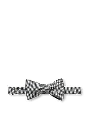 Bruno Piattelli Men's Woven Bow Tie, Black