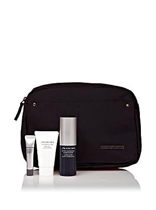 SHISEIDO Kit de Tratamiento Facial y El Contorno De Ojos 4 Piezas Active 85 ml