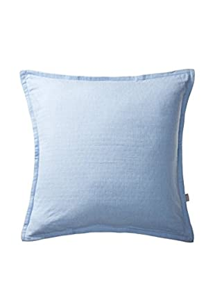 Belle Époque Serenity Decorative Pillow, Smooth Blue