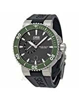 Oris Aquis Small Second Date Mens Watch 743-7673-4137Rs