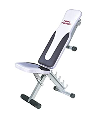 HIGH POWER Panca Fitness Ad 300 Pro Nero/Bianco