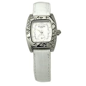 【クリックで詳細表示】[アレサンドラオーラ]Alessandra Olla 腕時計 クォーツ式 AO-1600 WH レディース: 腕時計通販