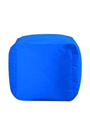 Sitting Bull Puff Cube Azul