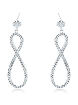 ANDREA BELLINI Ohrringe 8 Scintillant Sterling-Silber 925