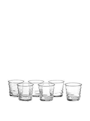 La Rochère Set of 6 Frisson Décor 11-Oz. Smoothie Glasses