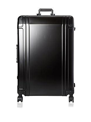 Zero Halliburton Geo Aluminum 30 Inch 4 Wheel Spinner Travel Case, Black