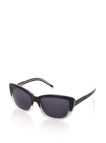Theory Women's TH2134 Sunglasses, Ebony Faded