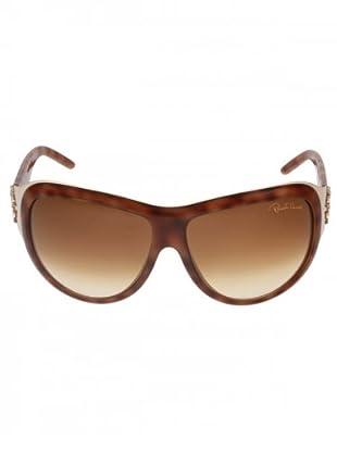 Roborto Cavalli Sonnenbrille Unisex 467/S 53F Acetat schildpatt/rotbraun
