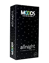 Moods Allnight Climax Delay Latex Condoms (Pack of 10)