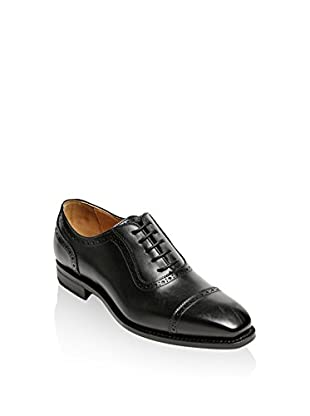 British Passport Zapatos Oxford Box Calf