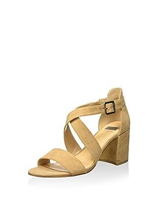 Bata 7698317 Sandali con cinturino alla caviglia, Donna, Beige, 37