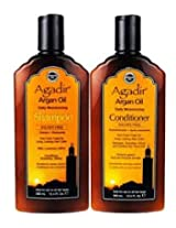 Agadir Argan Oil Daily Shampoo Plus Conditioner Combo Set, 366ml