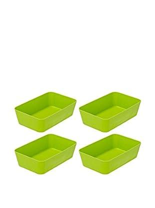 Wenko Aufbewahrungsbox 4er Set