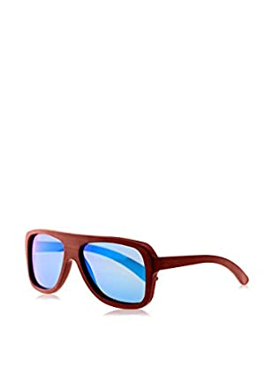 Earth Wood Sunglasses Gafas de Sol Wood Siesta (60 mm) Rojo