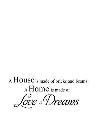 LO+DEMODA Wandtattoo Love & Dreams
