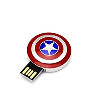The Fappy Store Captain America Shield 8 GB Pen Drive