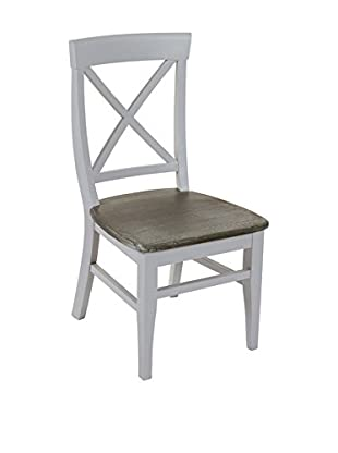 COLONIAL CHIC Silla Daphne Gris